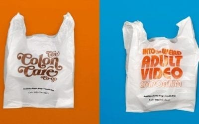 Forget Your Reusable Bags? This Grocer's Embarrassing Plastic Sacks Will Help You Remember